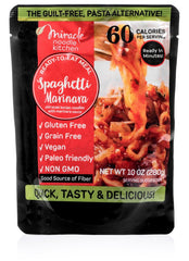 Miracle Noodle Ready-To-Eat Meal Spaghetti Marinara