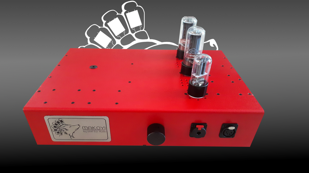 Makoyi - Transformer Coupled Tube Headphone Amp