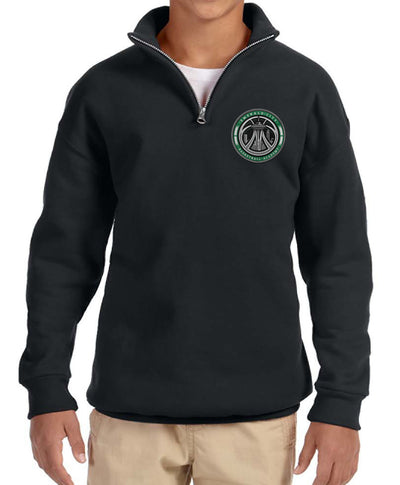 ECBA 1/4 zip Sweatshirt