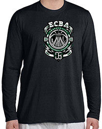 ECBA Long Sleeve Performance T-Shirt