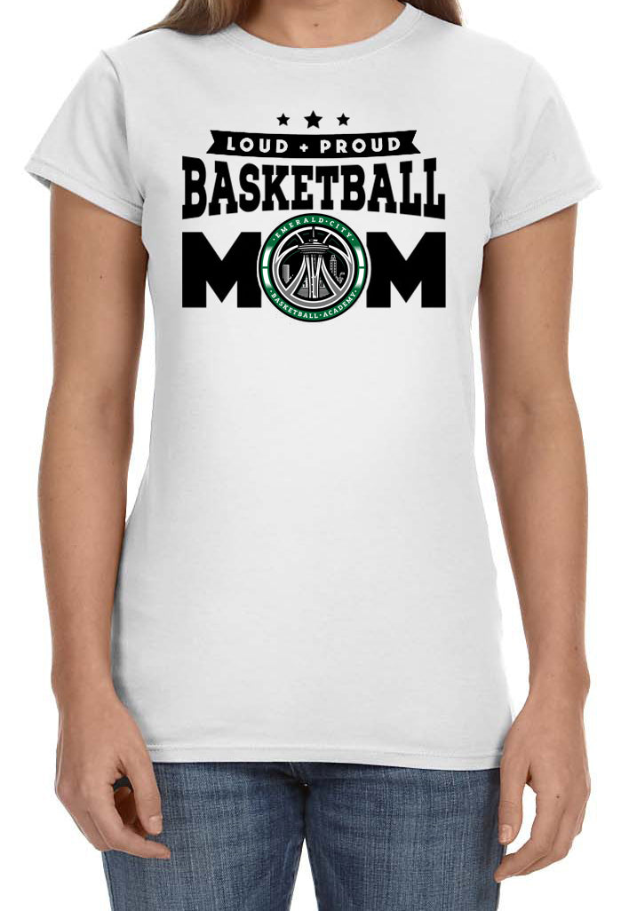 ECBA Basketball Parents T-Shirt