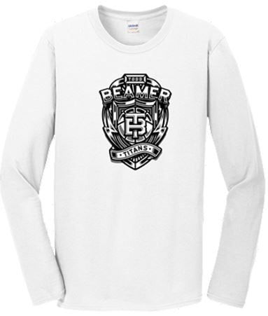 Beamer Crest Long Sleeve Performance Tee