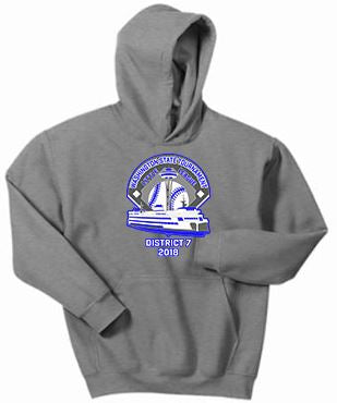 WA LL Hooded Sweatshirt