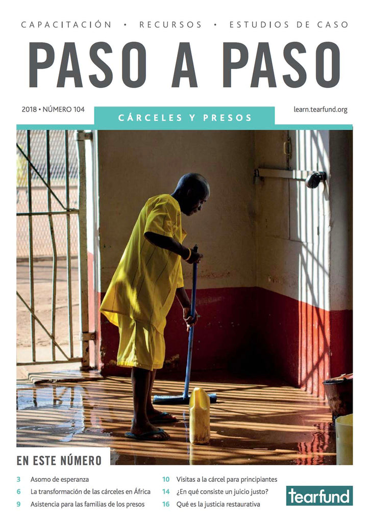 Footsteps 104: Prisons (Spanish) (Pack of 10)