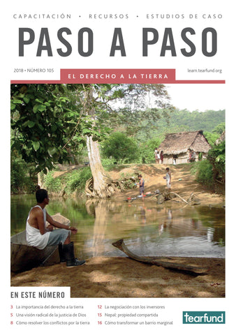 Footsteps 105: Land rights (Spanish) (Pack of 10)