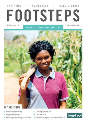 Footsteps 110: Farming for the future (English) (Pack of 10)