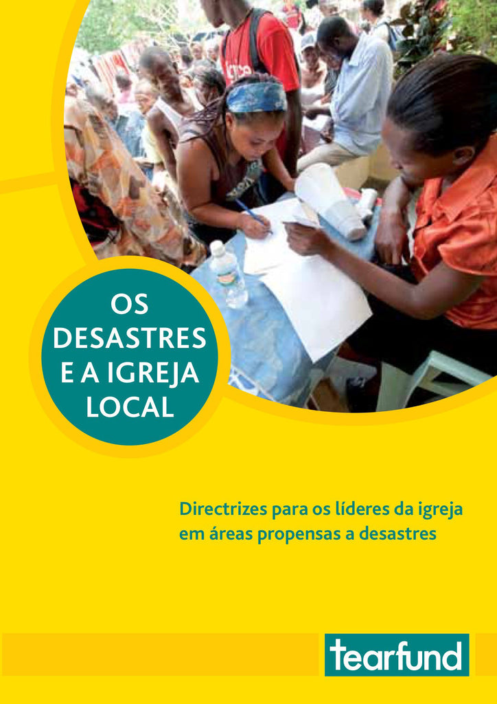 Disasters and the local church (Portuguese)