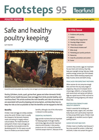 Footsteps 95: Poultry keeping (English)