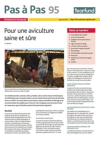 Footsteps 95: Poultry keeping (French)
