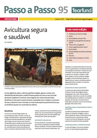 Footsteps 95: Poultry keeping (Portuguese)