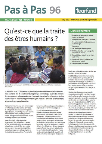 Footsteps 96: Human trafficking (French)