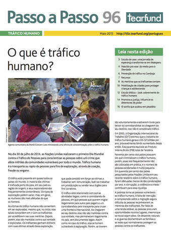 Footsteps 96: Human trafficking (Portuguese)