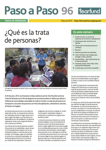 Footsteps 96: Human trafficking (Spanish)