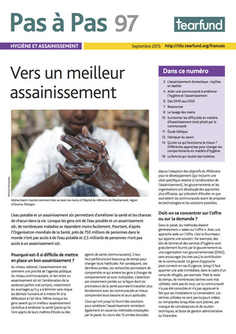 Footsteps 97: Hygiene and sanitation (French)