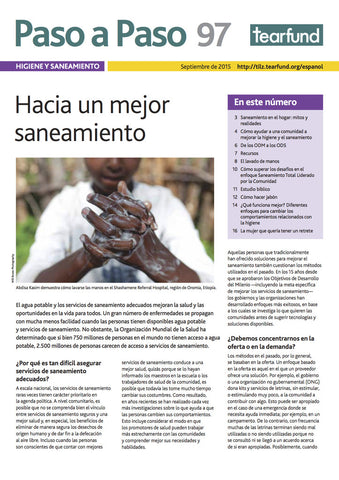 Footsteps 97: Hygiene and sanitation (Spanish)