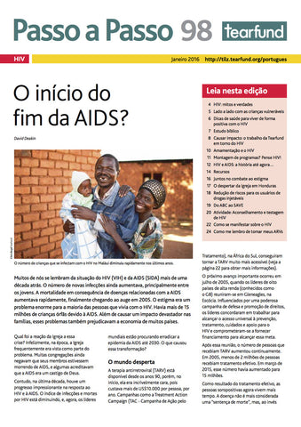 Footsteps 98: HIV (Portuguese)