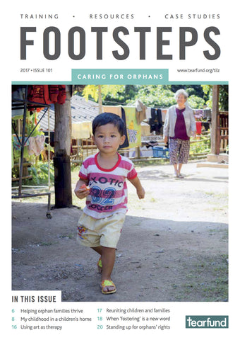 Footsteps 101: Caring for orphans (English) (Pack of 10)