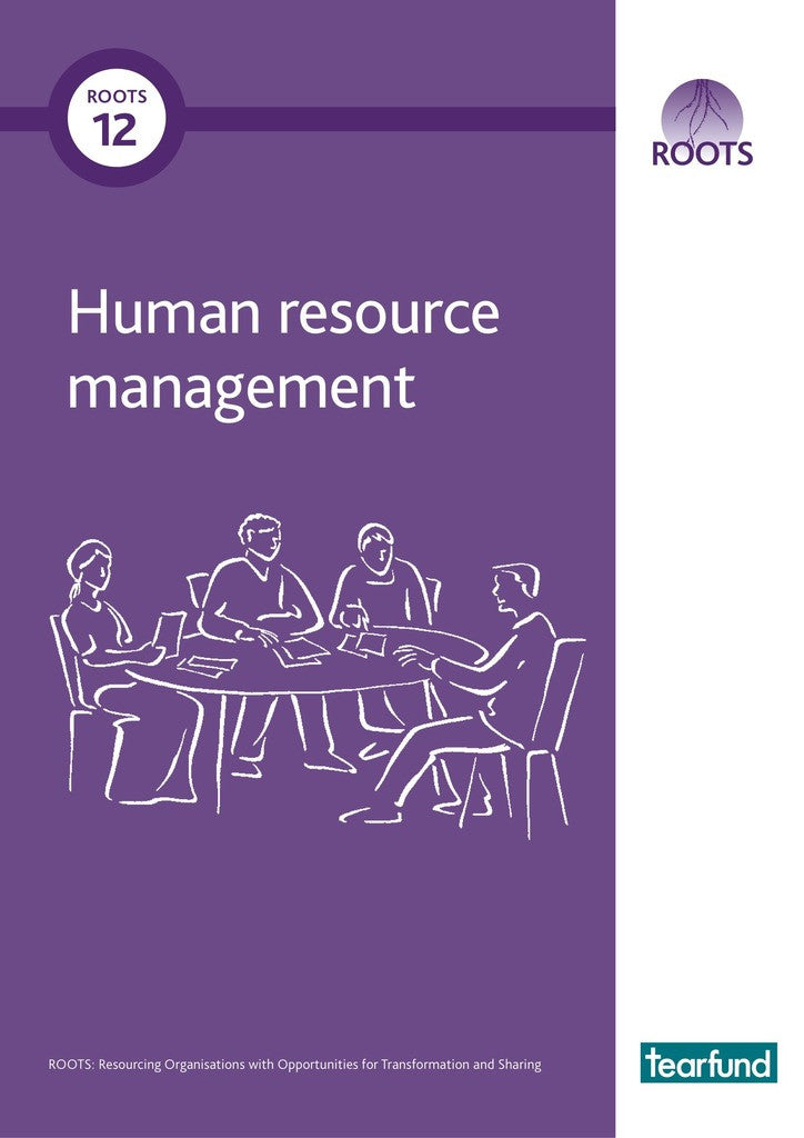 ROOTS 12: Human resource management (English)