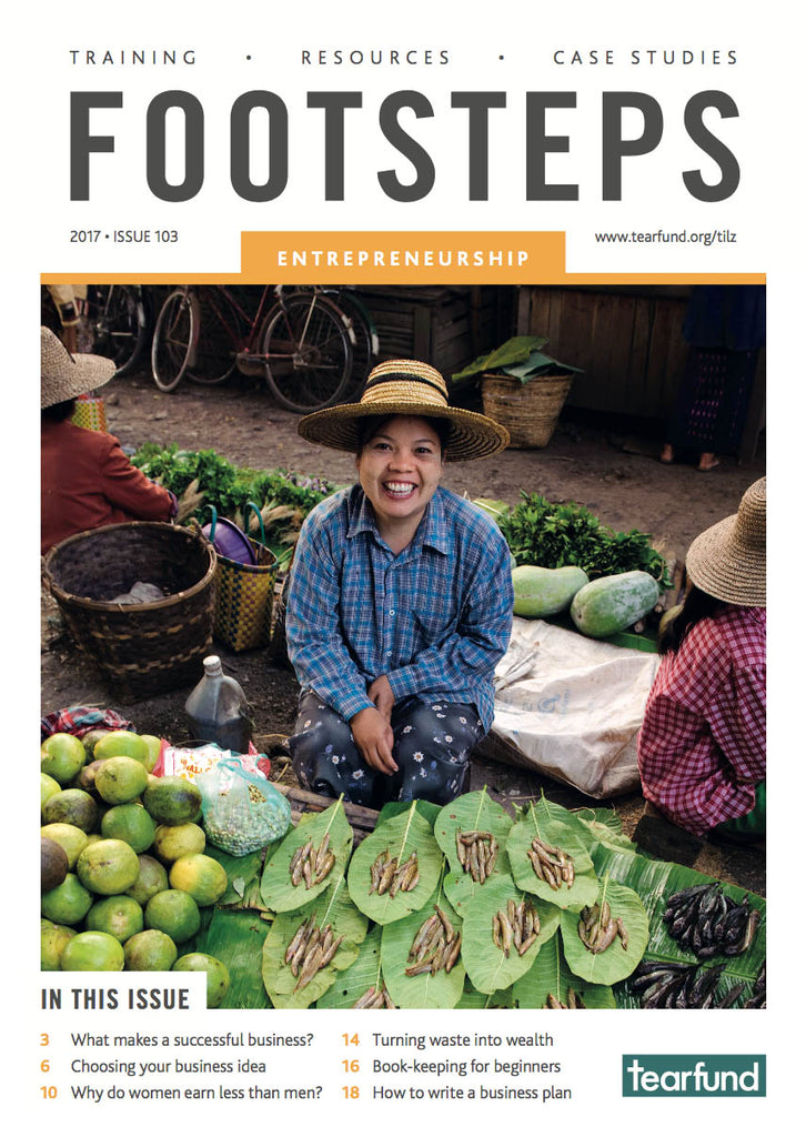 Footsteps 103: Entrepreneurship (English) (Pack of 10)