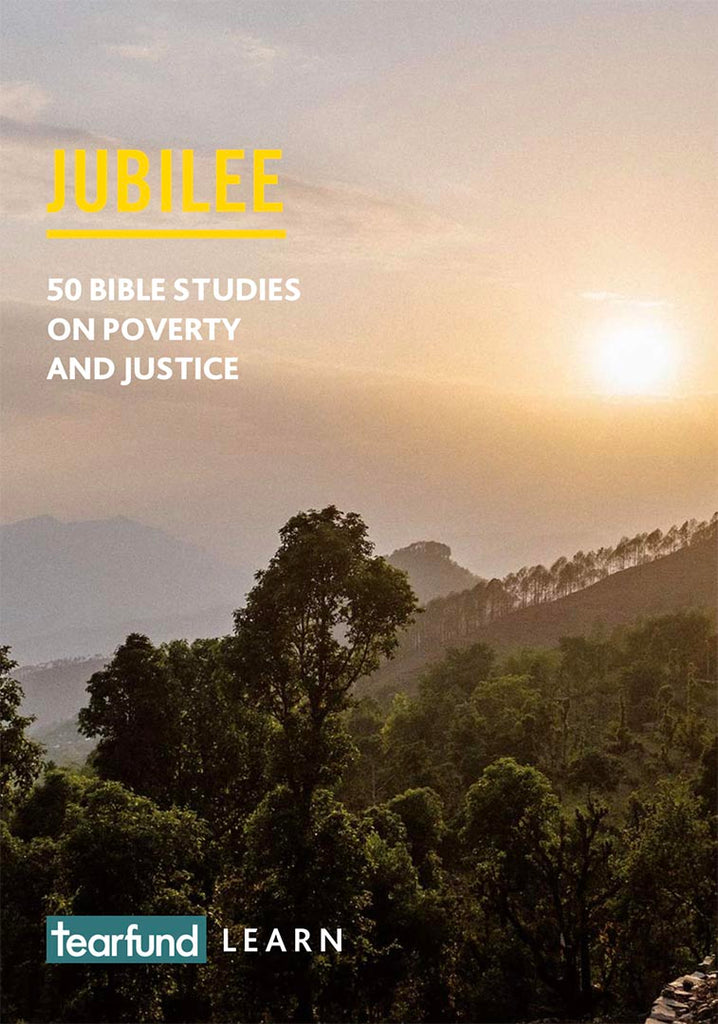 Jubilee: 50 Bible studies on poverty and justice (English)
