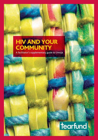 Umoja: Supplementary HIV guide (English)