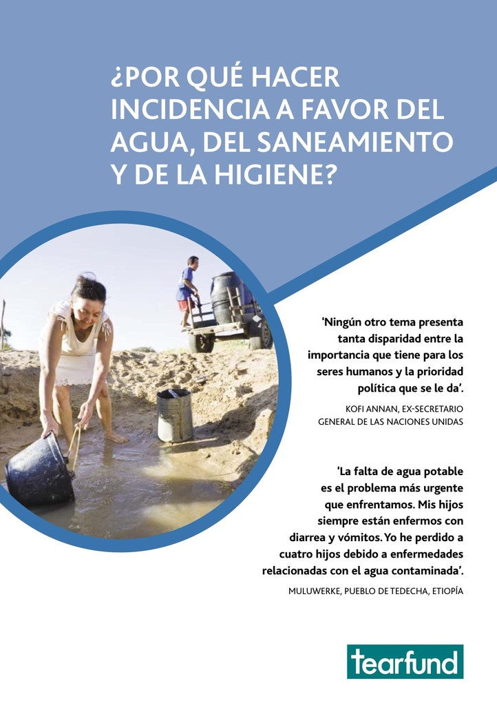 Why advocate for water, sanitation and hygiene (WASH)? (Spanish)