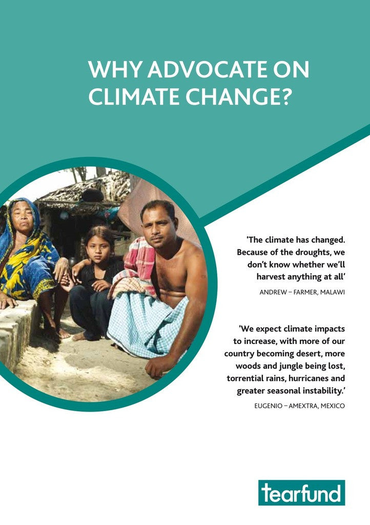 Why advocate on climate change? (English)