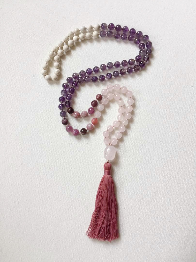 Balancing Mala Necklace by Mala Love By Michelle