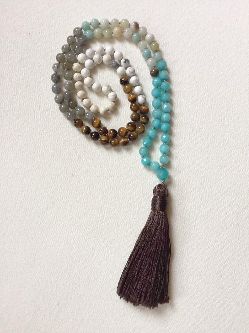 Calming Confidence Mala Necklace by Mala Love by Michelle