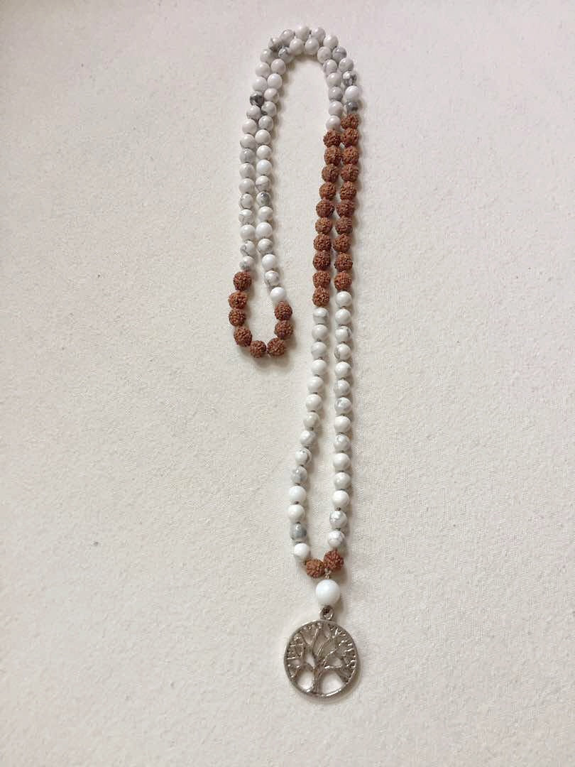 Serenity Mala Necklace by Mala Love by Michelle