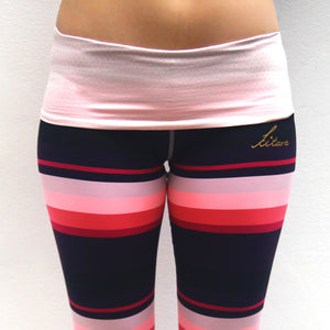 Ronda Striped Leggings Front Kitara Rouge