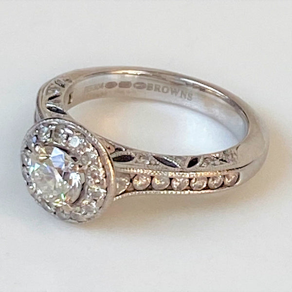 "Browns ""1934 Collection"" 18ct Gold and Diamond Ring"