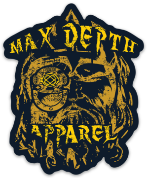 Max Depth Apparel stickers