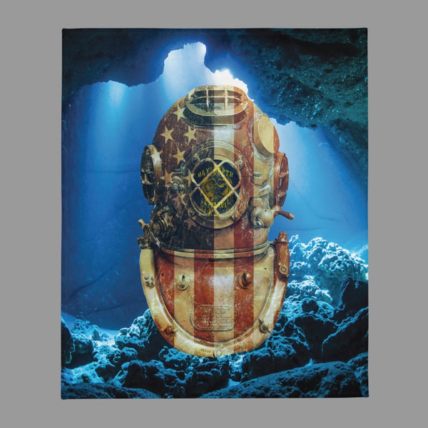 Deep Sea America Blanket