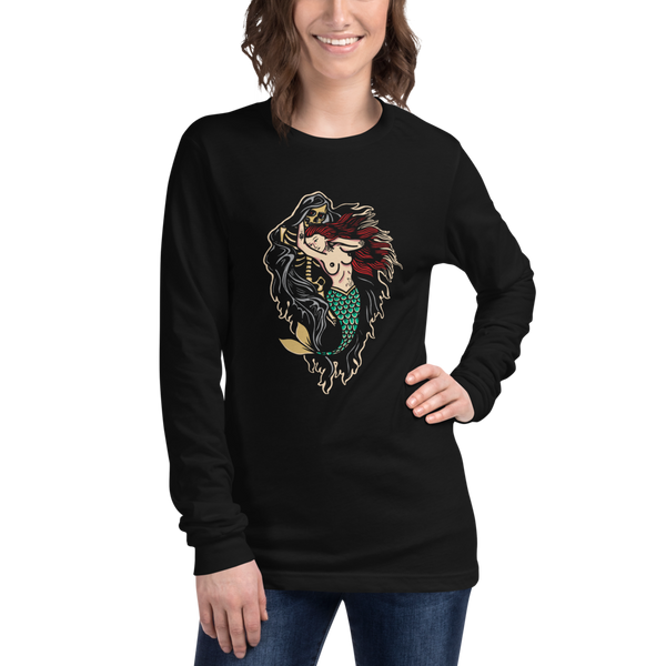 Mermaid & Death Long Sleeve