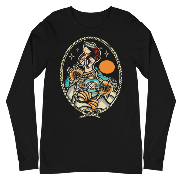 Mermaid on the Rocks Long Sleeve