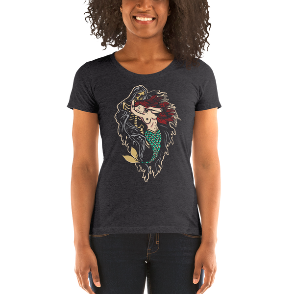 Mermaid & Death Tee