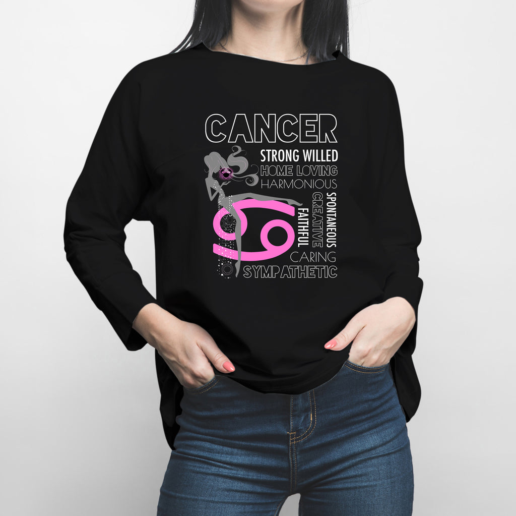 Horoscope Cancerian Long Sleeve Shirt