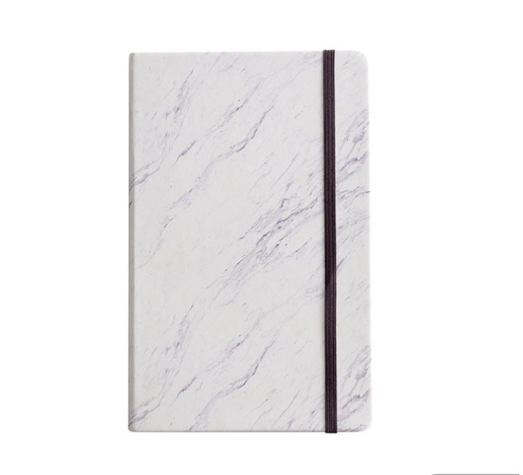 Marble A5 Dotted Notebook