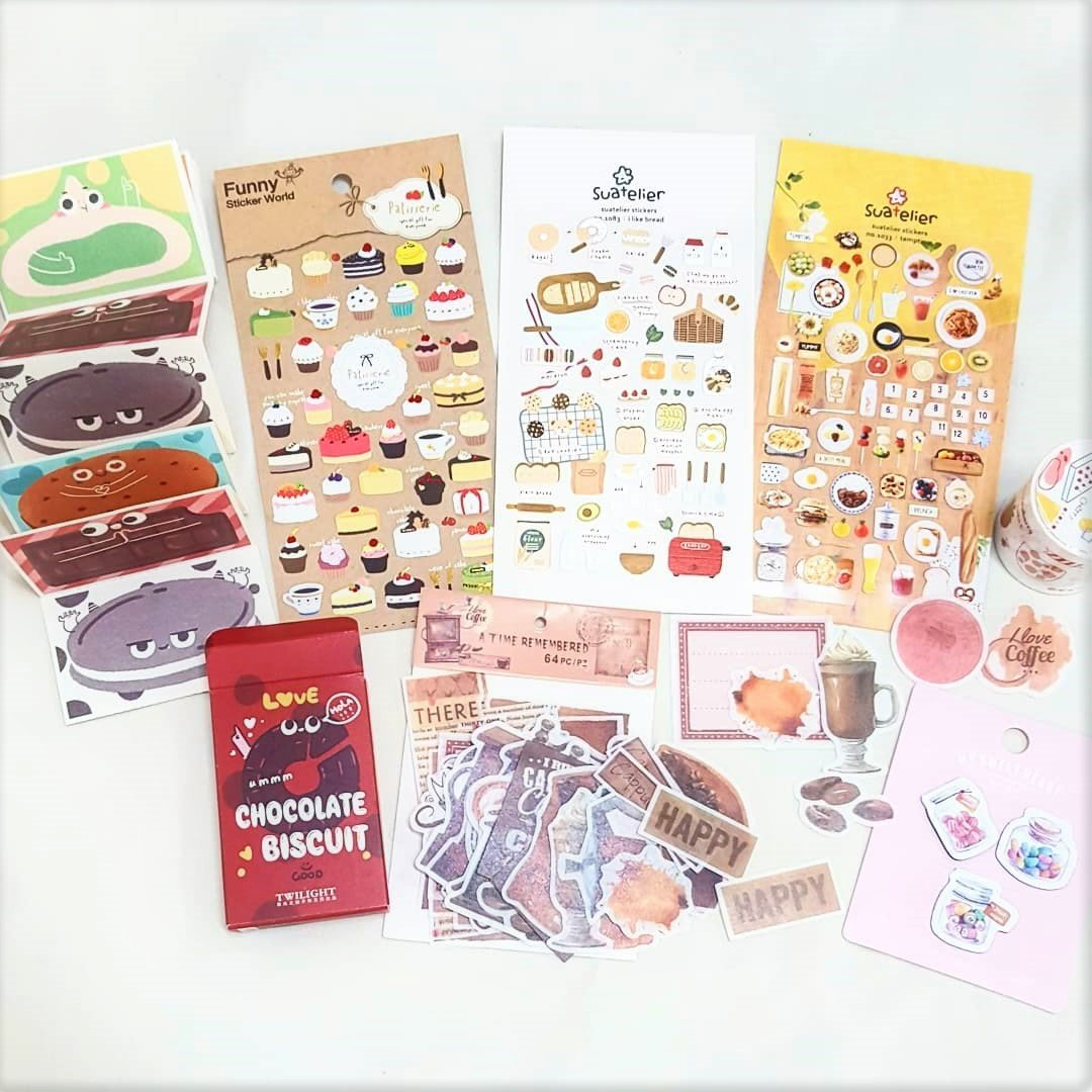 April Theme Bundle - Food - Happiness Idea