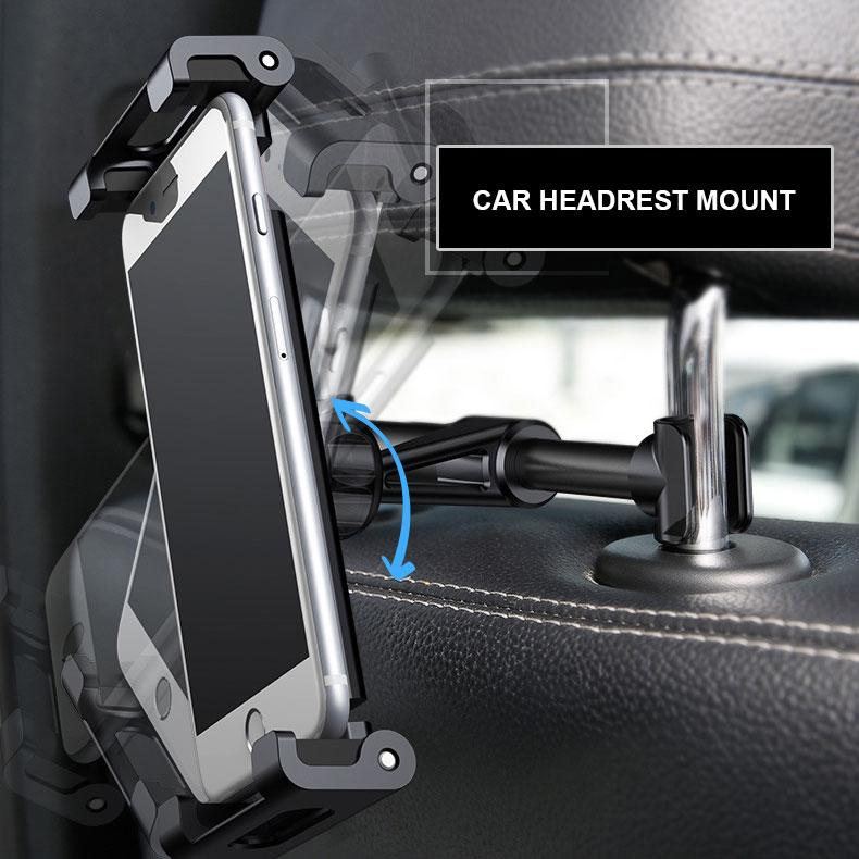 Baseus Car Headrest Mount - Happiness Idea