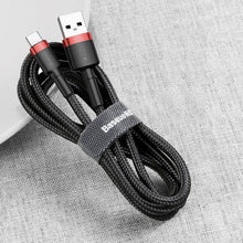 Load image into Gallery viewer, Baseus Premium Nylon Braided Type-C Cable - Happiness Idea