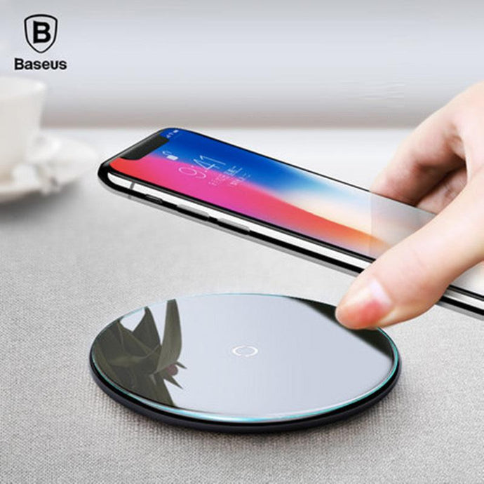 Baseus Ultraslim Qi Wireless Fast Charger - Happiness Idea