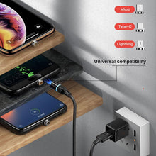 Load image into Gallery viewer, Cafele 3-in-1 Magnetic Fast Charging Cable - Happiness Idea