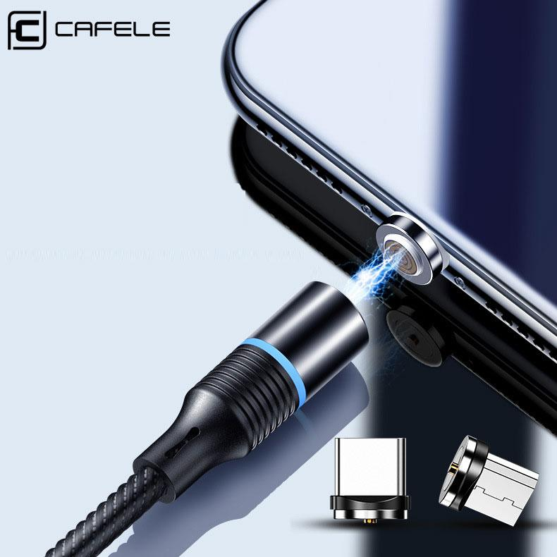 Cafele 3-in-1 Magnetic Fast Charging Cable - Happiness Idea