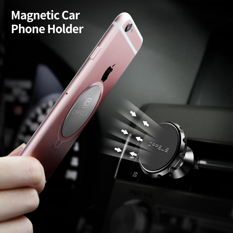 Cafele Magnetic Car Phone Holder - Happiness Idea
