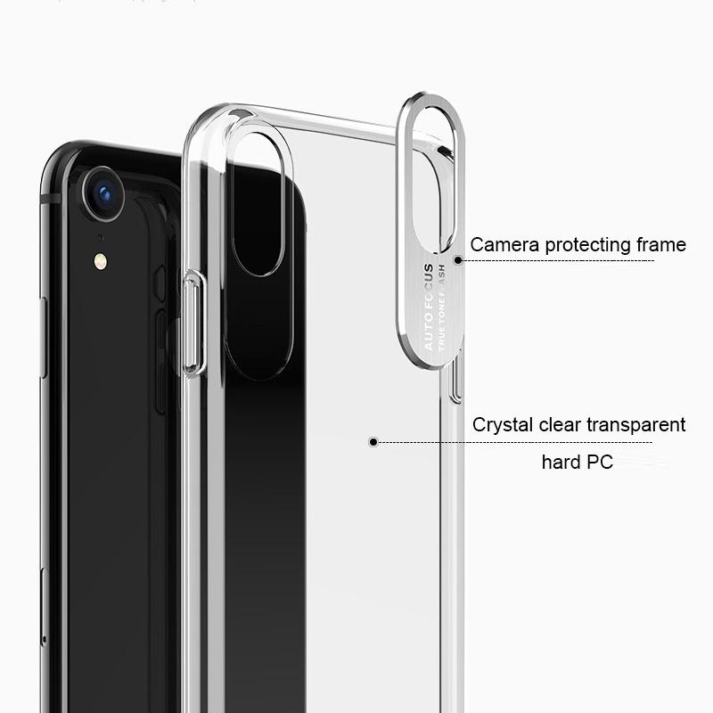 Camera Defender Clear Case for iPhone - Happiness Idea