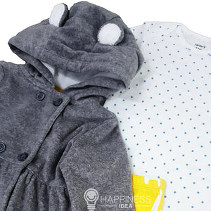 Carter's 3 Pcs Little Jacket Set - Happiness Idea