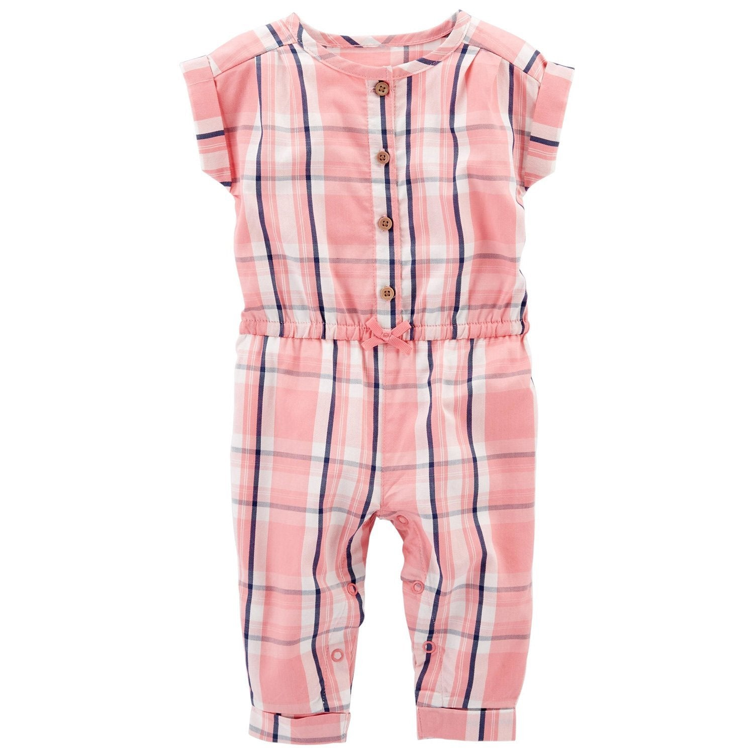 Carter's Plaid Jumpsuit - Happiness Idea
