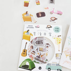 Deco Sticker Pack - Happiness Idea
